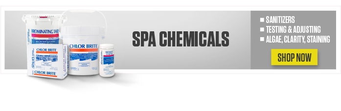 Leslie's blog spa chemicals