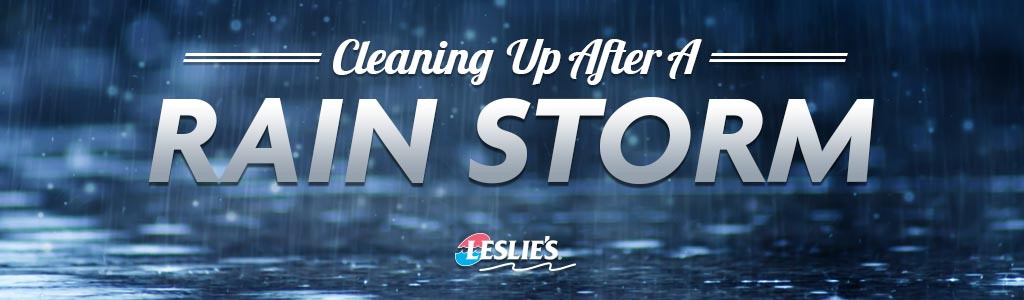 Banner image of the Cleaning Up After A Rain Storm article