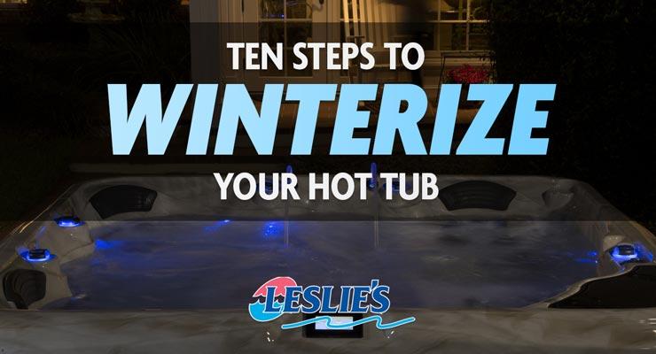 Winterizing Your Hot Tub
