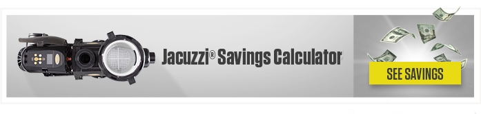 Jacuzzi Variable Speed Pump Savings Calculator