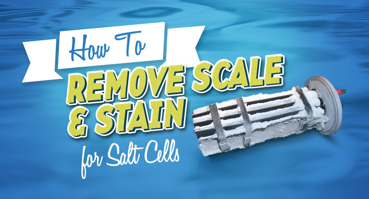 How to Remove Scale & Stain from Salt Cells
