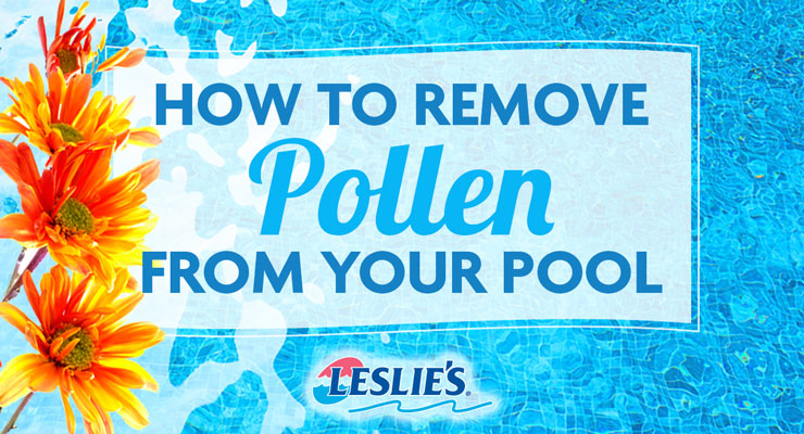 How To Remove Pollen From Your Pool