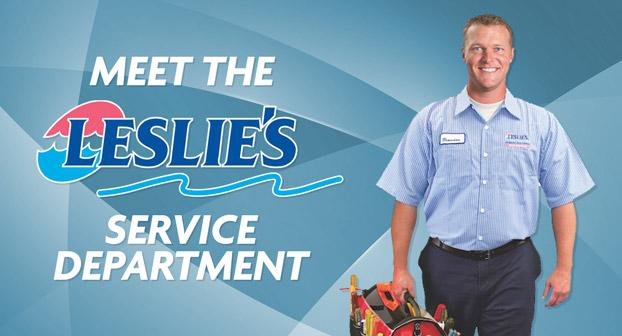 Meet The Leslie's Service Department
