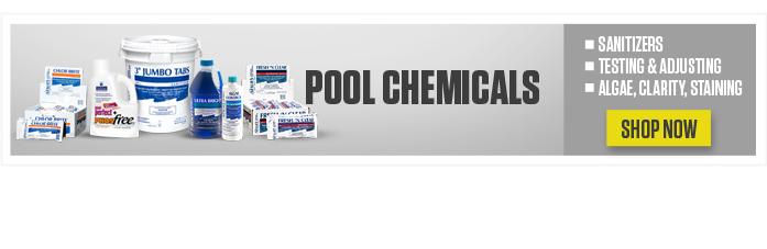 Leslie's blog pool chemicals