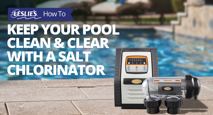 Keep Your Pool Clean & Clear with a Salt Chlorinatorthumbnail image.