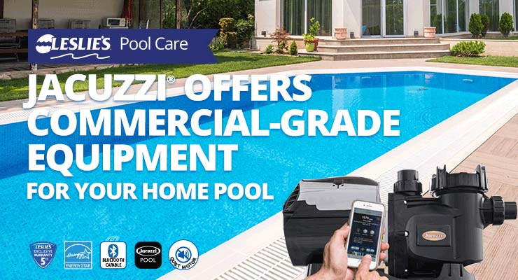 Jacuzzi: Commercial-Grade Equipment for Your Home Poolthumbnail image.