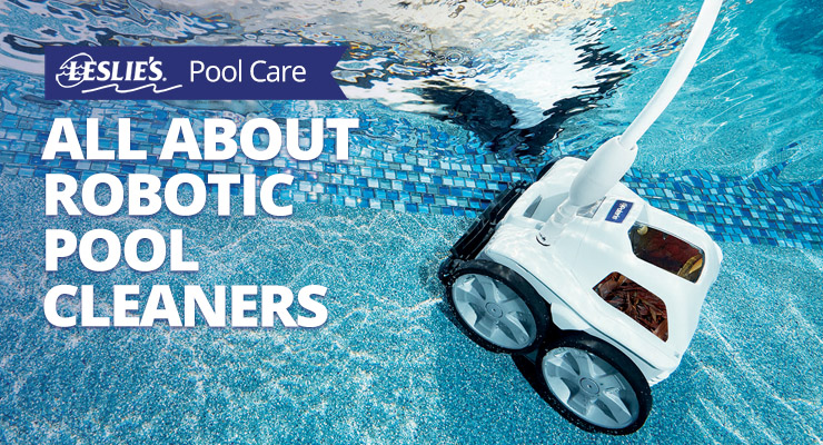 All About Robotic Pool Cleanersthumbnail image.