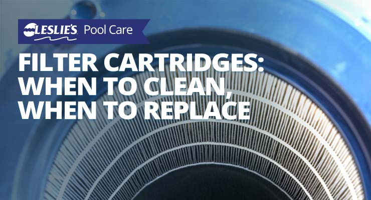Pool Filter Cartridges - When To Clean It? When To Replace It?thumbnail image.