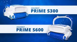The Aquabot Prime Series S300 and S600 are Here to Modernize the Robotic Pool Cleaner Industrythumbnail image.