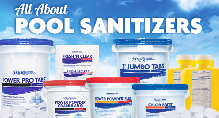 All About Pool Sanitizersthumbnail image.