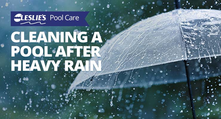 Cleaning a Swimming Pool After Heavy Rainthumbnail image.