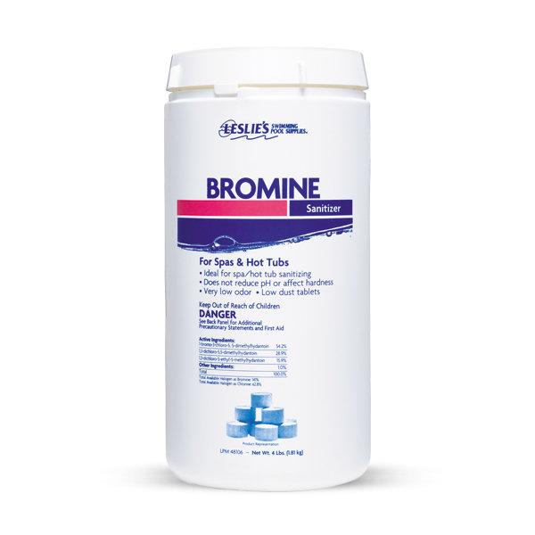 Leslie's bromine tablet sanitizer