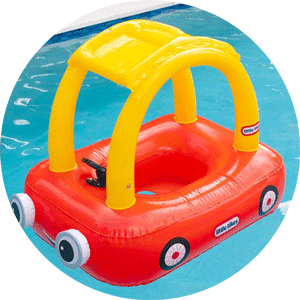 little tikes cozy coupe toddler pool float