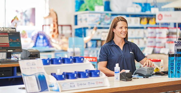 Leslie's in-store AccuBlue Water Test