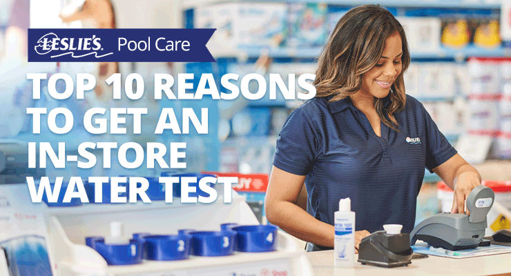 Top 10 Reasons to Get an In-Store Water Testthumbnail image.