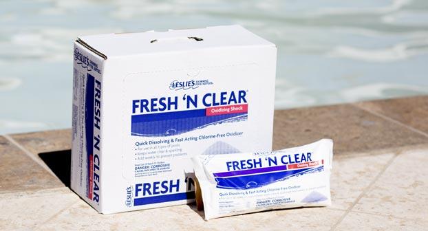 Leslie's Fresh 'N Clear oxidizing pool shock