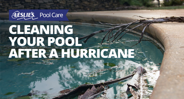 Cleaning Your Pool After a Hurricanethumbnail image.