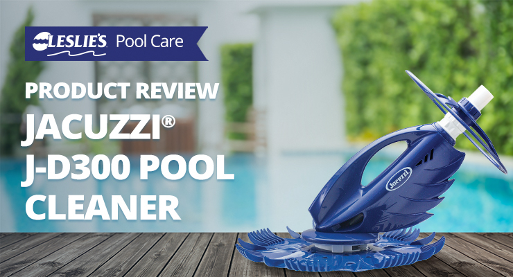 Product Review - Jacuzzi J-D300 Suction Side Pool Cleanerthumbnail image.