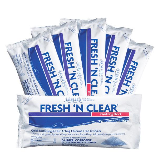 leslie's fresh 'n clear non-chlorine shock