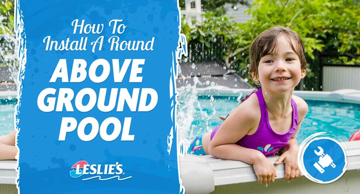 How To Install a Round Above Ground Poolthumbnail image.