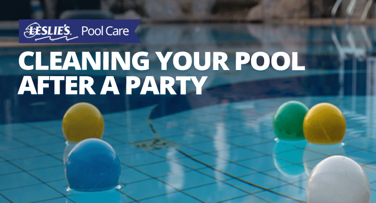 Cleaning Your Pool After a Partythumbnail image.
