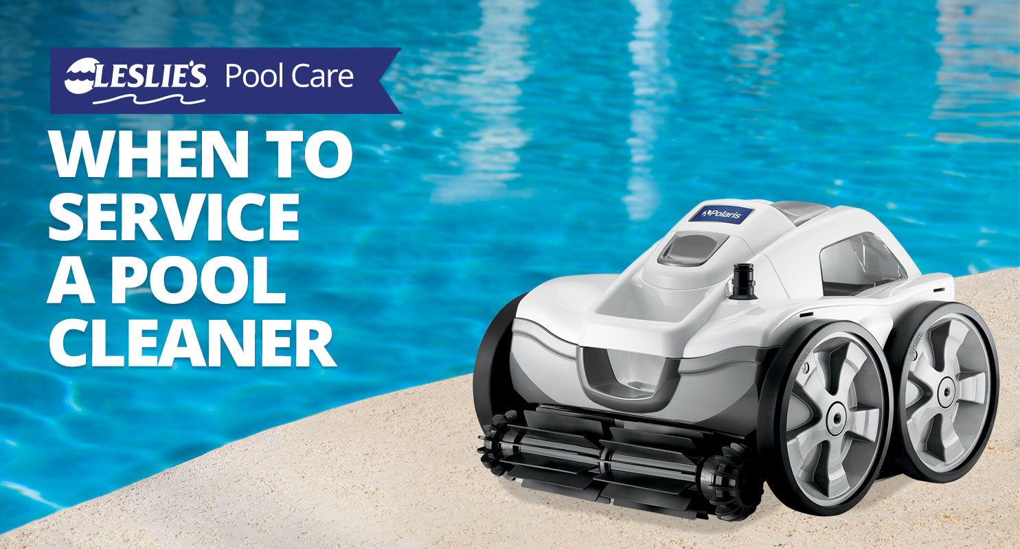 When To Service a Pool Cleanerthumbnail image.