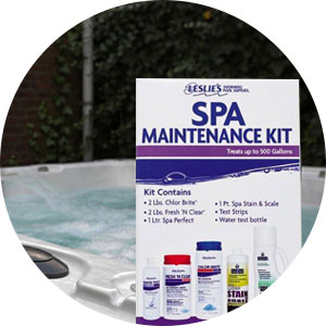Hot Tub and Spa Maintenance Kit