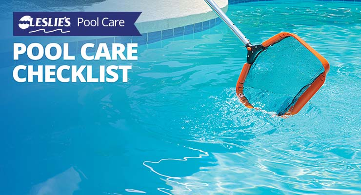 Leslie's Pool Care Checklistthumbnail image.