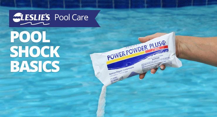 Pool Shock Basicsthumbnail image.