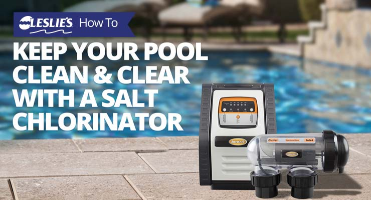 Keep your pool clean and clear with a salt chlorinator