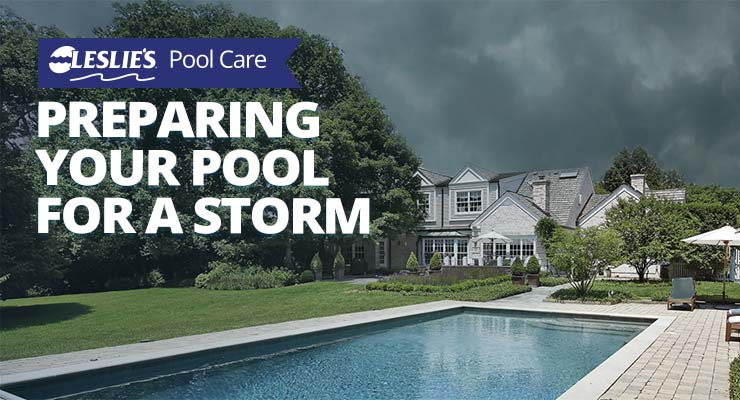 Preparing Your Pool for a Storm