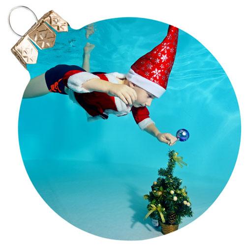 Christmas and holiday pool games