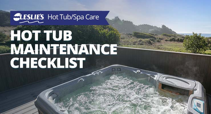 Leslie's Hot Tub Maintenance Checklistthumbnail image.