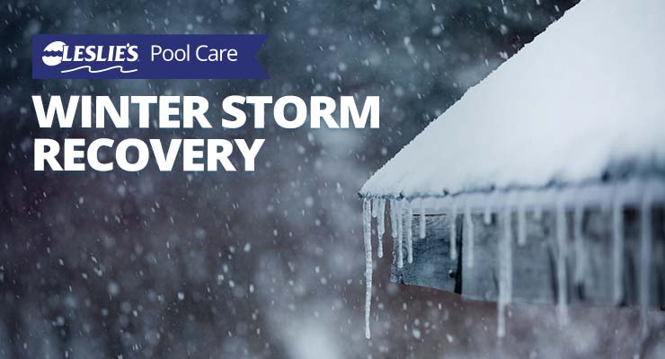 Winter Storm Recovery for Swimming Pools