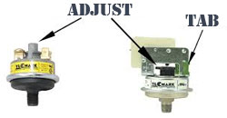 PRESSURE-SWITCH-ADJUSTMENTS