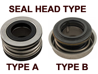 SHAFT-SEAL HEAD TYPES