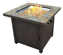 az propane fire pit heater