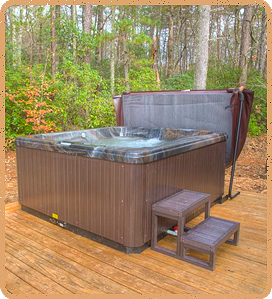 cabin-hot-tub-has-two-filters