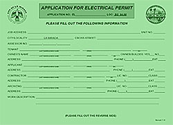 Wiring a hot tub requires an electrical permit.