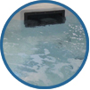 hot tub water level