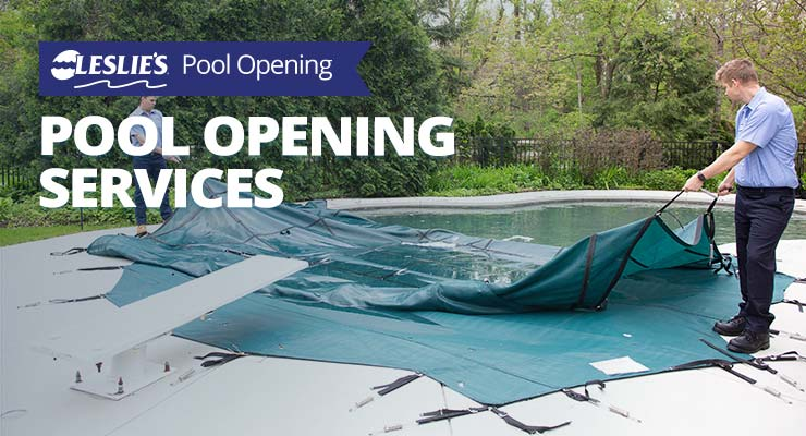 Leslie's Pool Opening Services