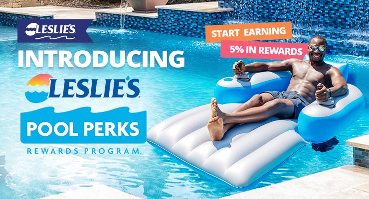 Introducing Leslie's Pool Perks