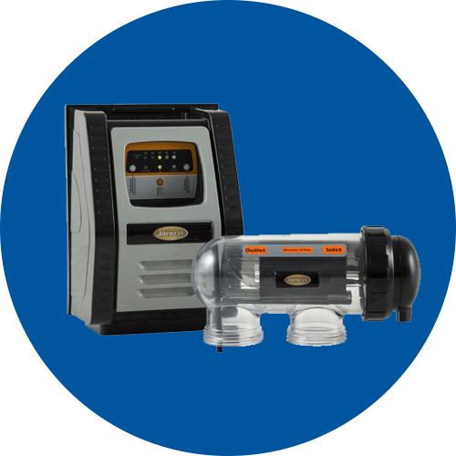 Jacuzzi salt chlorinator salt chlorine generator