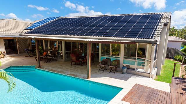 solar panels for swimming pool