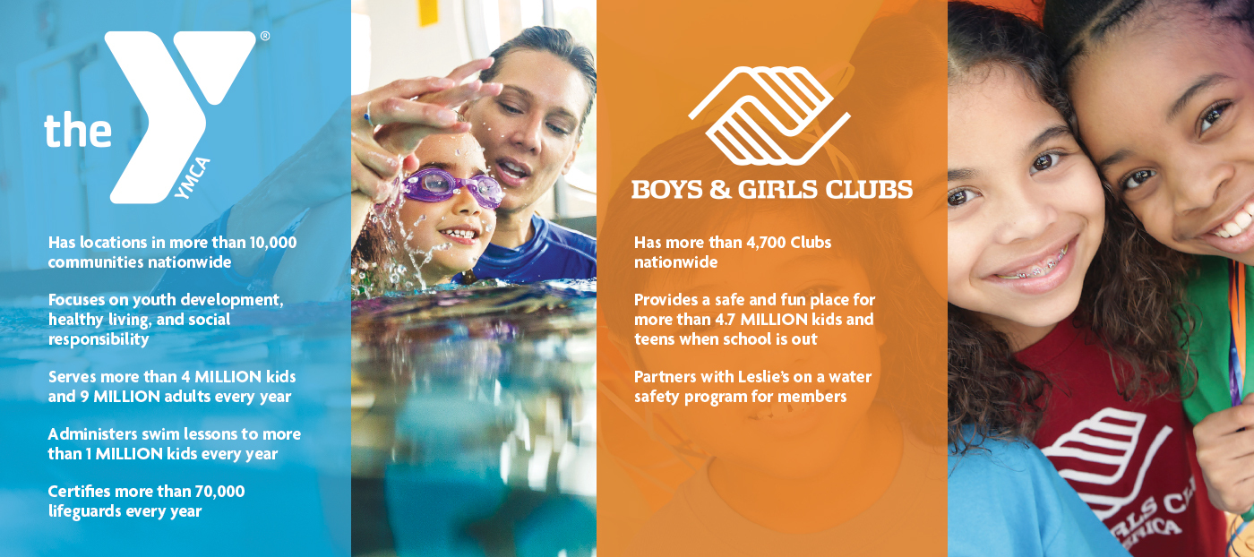 Details about YMCA and Boys & Girls Clubs of America for swim charity donation