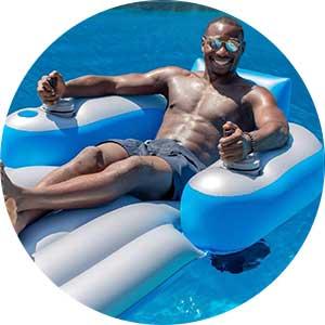 motorized pool float