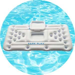 floating swimming pool game pool pong board
