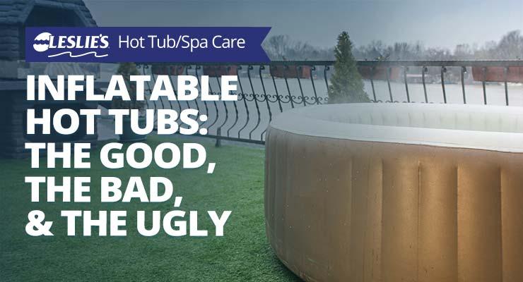 Inflatable Hot Tubs: The Good, The Bad, & The Uglythumbnail image.